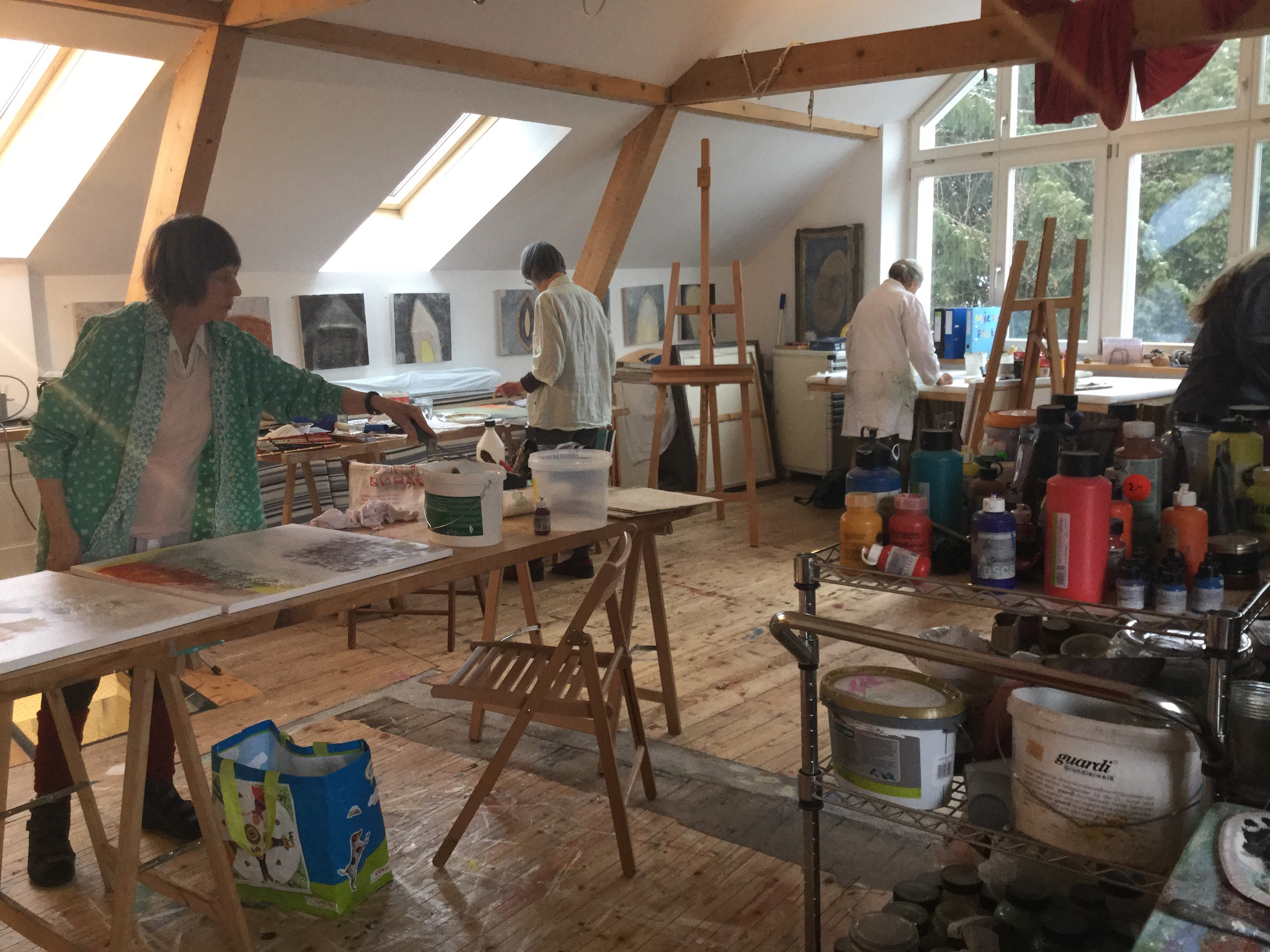 Malkurse im atelier arteprofundis - Atelier 154 ...